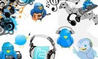 Twitter en la musica