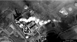 Planta energética vista desde el satélite de Skybox Imaging