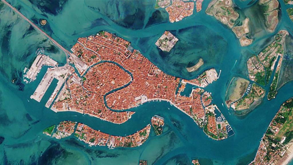 Venecia desde el esapcio